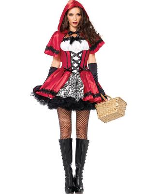 Disfraz caperucita roja gótica