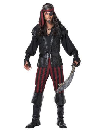 Disfraz pirata asesino choco choco disfraces