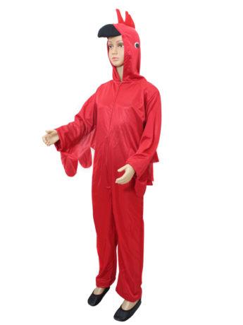 Disfraz pájaro rojo para niño choco choco disfraces